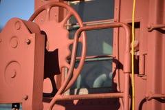 Caboosehjul Fotografering för Bildbyråer