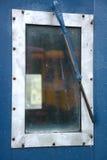 Caboosevenster Royalty-vrije Stock Afbeeldingen