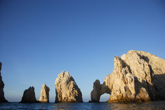 Cabos. The arch of Cabo San Lucas in Baja California Sur in Mexico Stock Photography