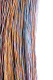 Cabos coloridos do computador Imagens de Stock Royalty Free