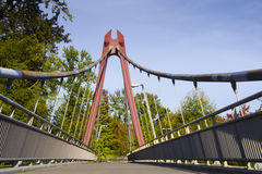 Cabos da ponte da bicicleta de Defazio Foto de Stock