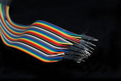 Cabos do arco-íris Fotografia de Stock Royalty Free