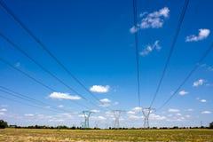 Cabos elétricos Fotografia de Stock