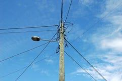 Cabos elétricos Foto de Stock Royalty Free
