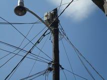 Cabos elétricos Imagem de Stock