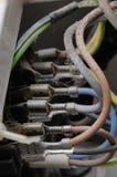 Cabos elétricos Mouldy. fotos de stock