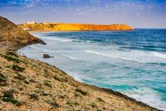 Cabos Sagres, Portugal - Atlantic Ocean Stock Images