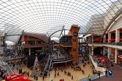 Cabot马戏购物中心,布里斯托尔,英国 库存图片