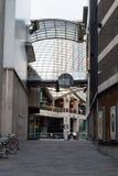 Cabot从债券St,布里斯托尔的马戏入口 库存图片