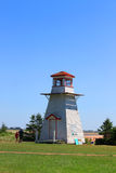 Cabot Beach lighthouse Royalty Free Stock Photos