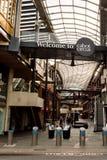 Cabot Circus-ingang van Broadmead Bristol Royalty-vrije Stock Afbeeldingen