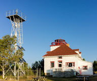 Cabot Head Lighthouse in Ontario Stock Image