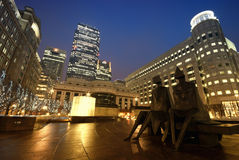 cabot London kwadrat Zdjęcie Royalty Free