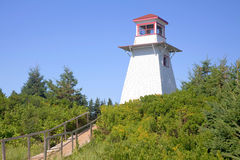 Cabot Park Lighthouse, Prince Edward Island Stock Photo