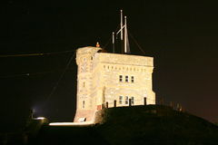 Cabot Tower. On Signal Hill Stock Photography
