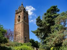 Cabot Tower - Brandon Hill Nature Park royaltyfri fotografi