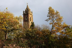 Cabot Tower in Bristol. Somerset, England Royalty Free Stock Photography