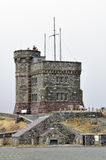 Cabot Tower, Newfoundland. Royalty Free Stock Photos