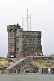 Cabot Tower, Newfoundland. Cabot Tower, Signal Hill, Saint John's, Newfoundland and Labrador, Canada Royalty Free Stock Photos