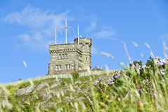 Cabot Tower, Signal Hill Stock Photos