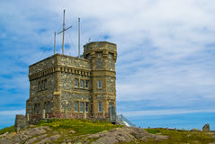 Cabot Tower, St-John's royalty free stock image