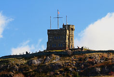 Cabot Tower St. John's Newfoundland Canada. Stock Images
