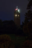 Cabot Tower vid natt arkivfoton