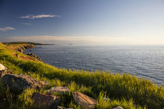 Cabot Trail. Along the Cabot Trail in Cape Breton Highlands National Park on Cape Breton Island Royalty Free Stock Images
