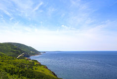 Cabot Trail, Cape Breton Highlands National Park Stock Images