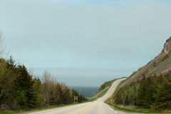 Cabot Trail Highway Foto de Stock