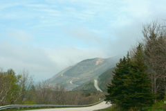 Cabot Trail Highway Foto de Stock Royalty Free