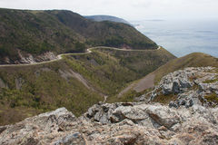 Cabot Trail Highway Fotografia de Stock