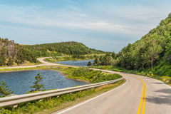 Cabot Trail Highway Stockbild