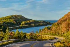 Cabot Trail Highway Royaltyfria Bilder
