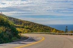 Cabot Trail Highway Fotografía de archivo libre de regalías