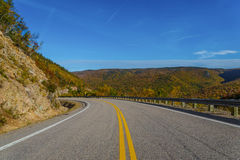 Cabot Trail Highway Immagine Stock