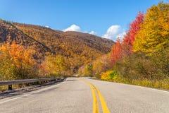 Cabot Trail Highway. (Cape Breton, Nova Scotia, Canada Stock Photos