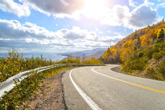 Cabot Trail Highway Royalty Free Stock Photos