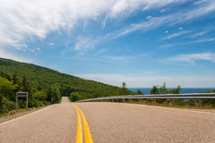 Cabot Trail Highway Royalty Free Stock Photo