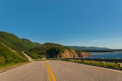 Cabot Trail Highway Royalty Free Stock Image