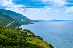 Cabot Trail highway Cape Breton NP NS Canada Stock Photos