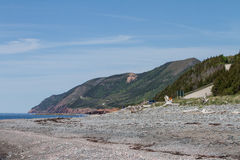Cabot Trail Highway Stock Image