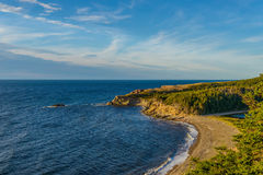 Cabot Trail Scenic sikt Fotografering för Bildbyråer
