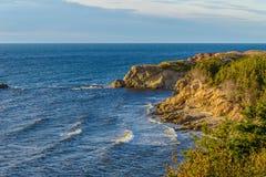 Cabot Trail Scenic sikt Arkivfoto