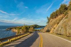 Cabot Trail Scenic view Royalty Free Stock Photo