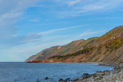 Cabot Trail scenic view Stock Photography