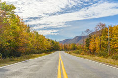 Cabot Trail scenic view Royalty Free Stock Image