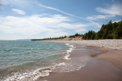 Cabot Trail shores Royalty Free Stock Image