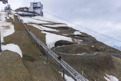 Caboteur alpin Image libre de droits