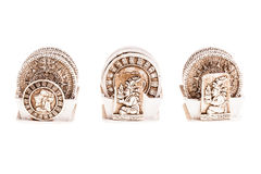 Caboteurs de calendrier de Maya Images libres de droits